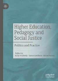 Cover Higher Education, Pedagogy and Social Justice