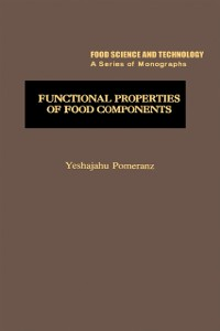 Cover Functional Properties of Food Components