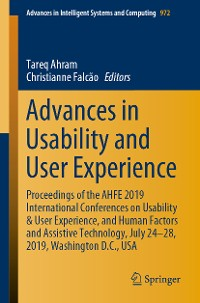 Cover Advances in Usability and User Experience