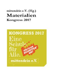 Cover Materialien Kongress 2017