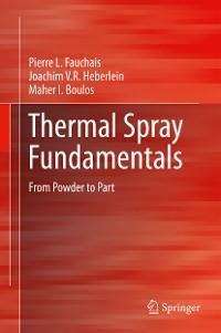 Cover Thermal Spray Fundamentals