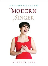 Cover A Dictionary for the Modern Singer