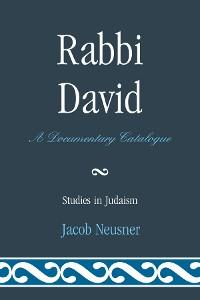 Cover Rabbi David