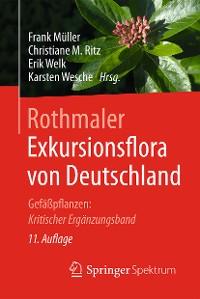 Cover Rothmaler - Exkursionsflora von Deutschland