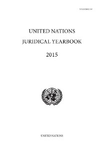Cover United Nations Juridical Yearbook 2015