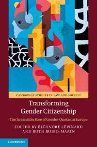 Cover Transforming Gender Citizenship