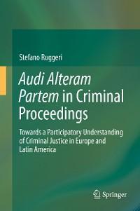 Cover Audi Alteram Partem in Criminal Proceedings