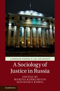 Cover Sociology of Justice in Russia