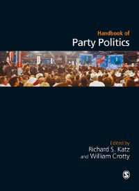 Cover Handbook of Party Politics