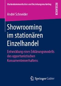 Cover Showrooming im stationären Einzelhandel