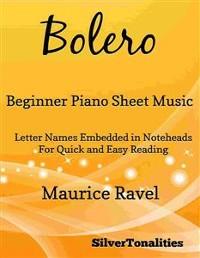 Cover Bolero Beginner Piano Sheet Music
