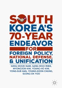 Cover South Korea's 70-Year Endeavor for Foreign Policy, National Defense, and Unification