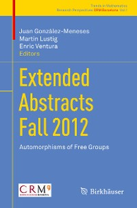 Cover Extended Abstracts Fall 2012