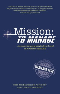 Cover Mission: To Manage