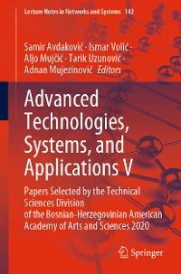 Cover Advanced Technologies, Systems, and Applications V