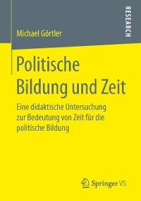Cover Politische Bildung und Zeit