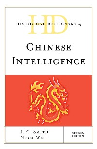 Cover Historical Dictionary of Chinese Intelligence