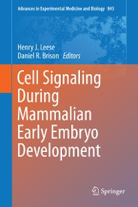 Cover Cell Signaling During Mammalian Early Embryo Development