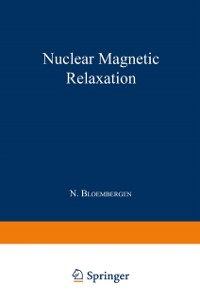 Cover Nuclear Magnetic Relaxation