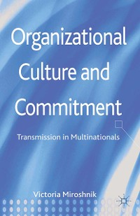 Cover Organizational Culture and Commitment