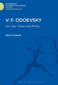 Cover V.F. Odoevsky