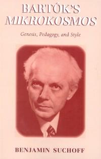 Cover Bartók's Mikrokosmos