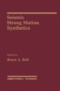 Cover Seismic Strong Motion Synthetics