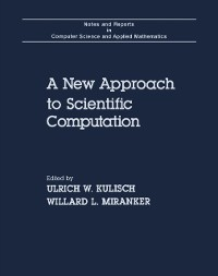 Cover New Approach to Scientific Computation