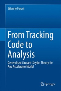 Cover From Tracking Code to Analysis