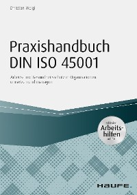 Cover Praxishandbuch DIN ISO 45001 - inkl. Arbeitshilfen online