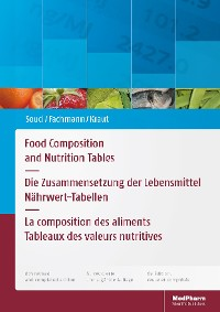Cover Food Composition and Nutrition Tables
