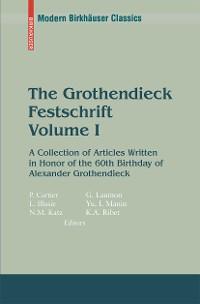 Cover The Grothendieck Festschrift, Volume I