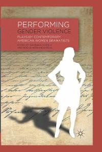 Cover Performing Gender Violence