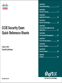 Cover CCIE Security Exam Quick Reference Sheets (Digital Short Cut)