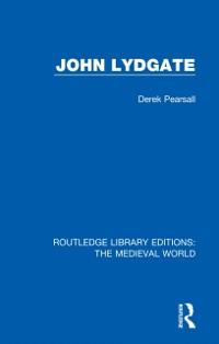 Cover John Lydgate