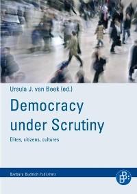 Cover Democracy under scrutiny