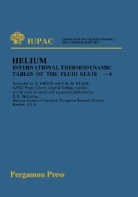 Cover International Thermodynamic Tables of the Fluid State Helium-4