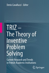 Cover TRIZ – The Theory of Inventive Problem Solving