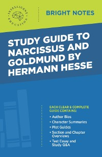 Cover Study Guide to Narcissus and Goldmund by Hermann Hesse