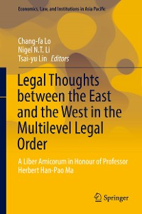 Cover Legal Thoughts between the East and the West in the Multilevel Legal Order