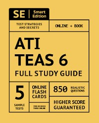 Cover ATI TEAS 6 Full Study Guide 2nd Edition