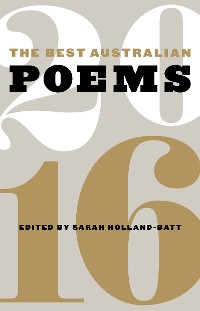 Cover The Best Australian Poems 2016