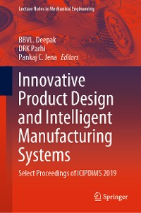 Cover Innovative Product Design and Intelligent Manufacturing Systems