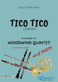 Cover Tico Tico - Woodwind Quintet set of PARTS