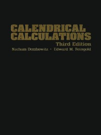 Cover Calendrical Calculations