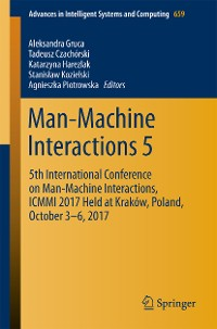 Cover Man-Machine Interactions 5