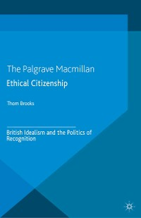Cover Ethical Citizenship