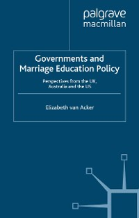 Cover Governments and Marriage Education Policy