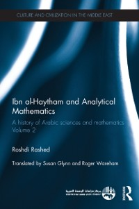 Cover Ibn al-Haytham and Analytical Mathematics