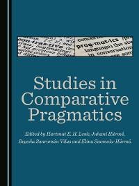 Cover Studies in Comparative Pragmatics